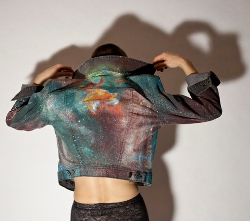 DIY Galaxy Fashion