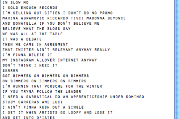 "» J Cole – ""Born Sinner"" Lyrics! [FULL ALBUM DOWNLOAD]"