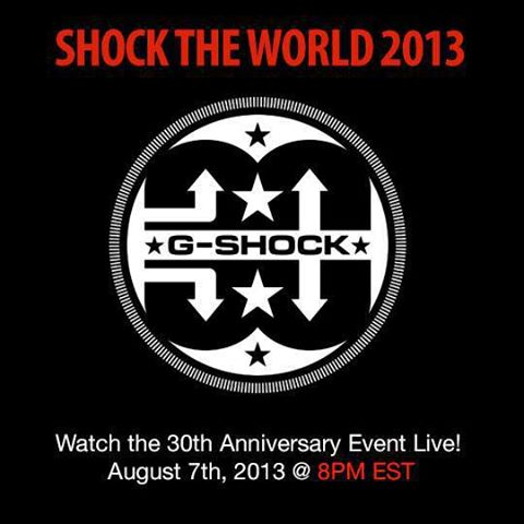 G-Shock: Shock The World 2013