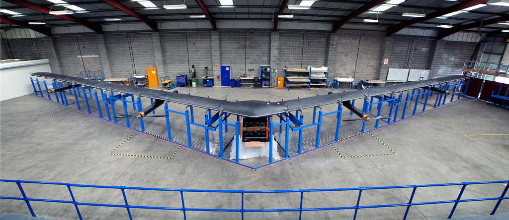 Check out Facebook Solar Powered aircraft Aquila