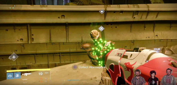 Destiny Taken King Wormspore & new Materials to Farm