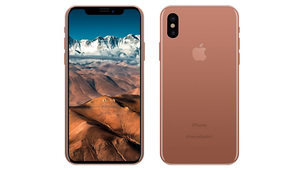 iPhone  8 leaked Blush Gold color