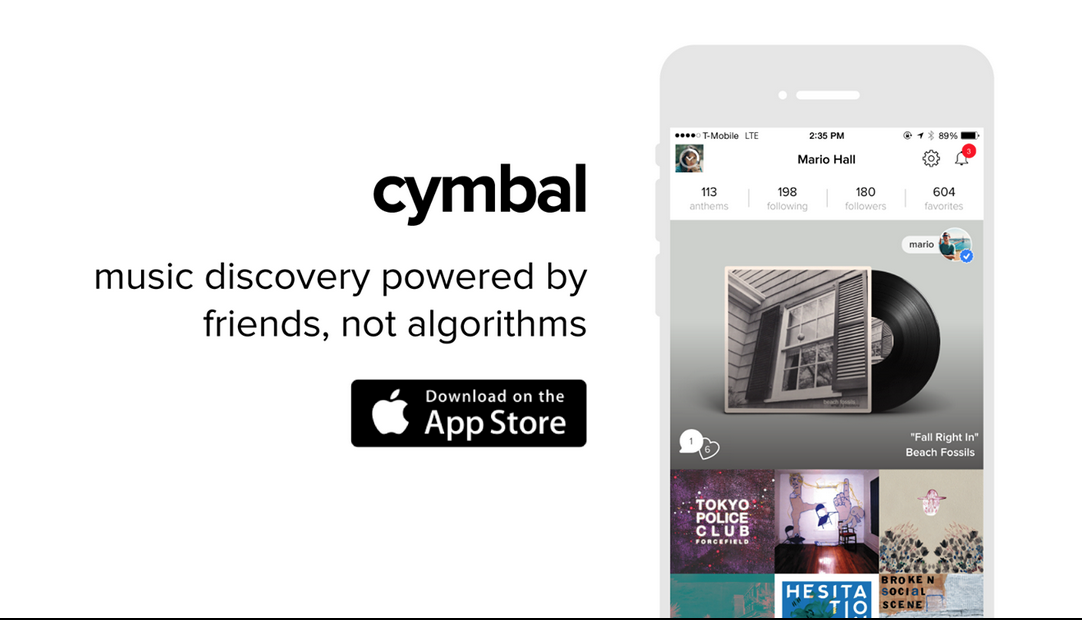CYMBAL music app download